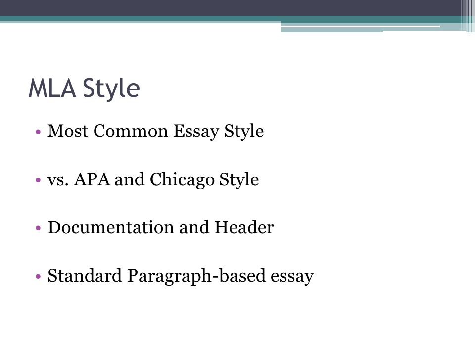 High School English Essay Topics  Mla Style Most Common Essay  Sample English Essays also Business Essay Writing Mla Format All About Citation  Ppt Video Online Download Essay About Science And Technology