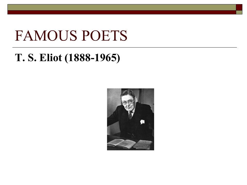 t.s. eliot selected essays dante Selected essays, 1917-1932 is a collection of prose and literary criticism by t s eliot eliot's work fundamentally changed literary thinking and selected essays provides both an overview and an in-depth examination of his theory it was published in 1932 by his employers,.