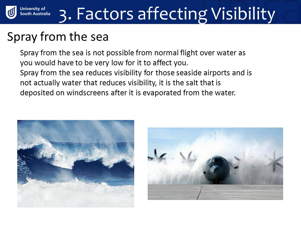 3. Factors affecting Visibility