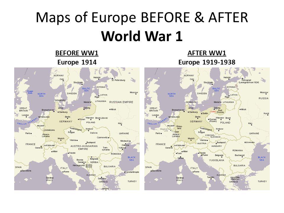 Pre World War 1 Europe Map.World War 1 Ppt Video Online Download