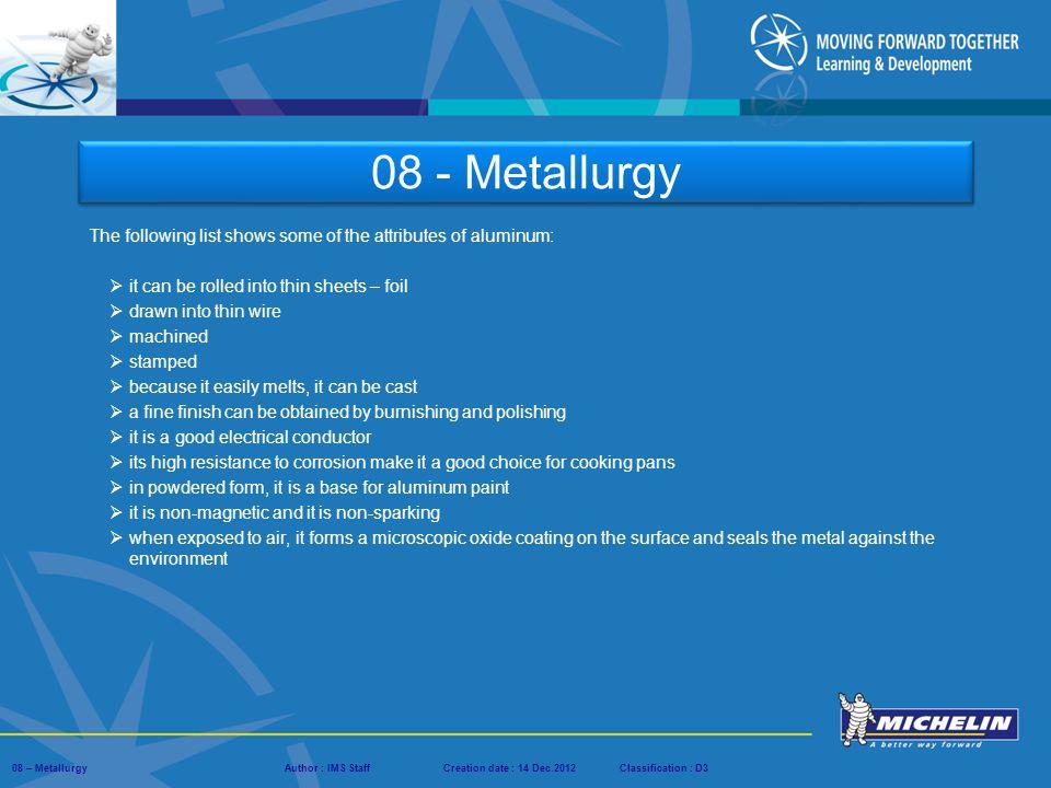 08 - Metallurgy. - ppt download