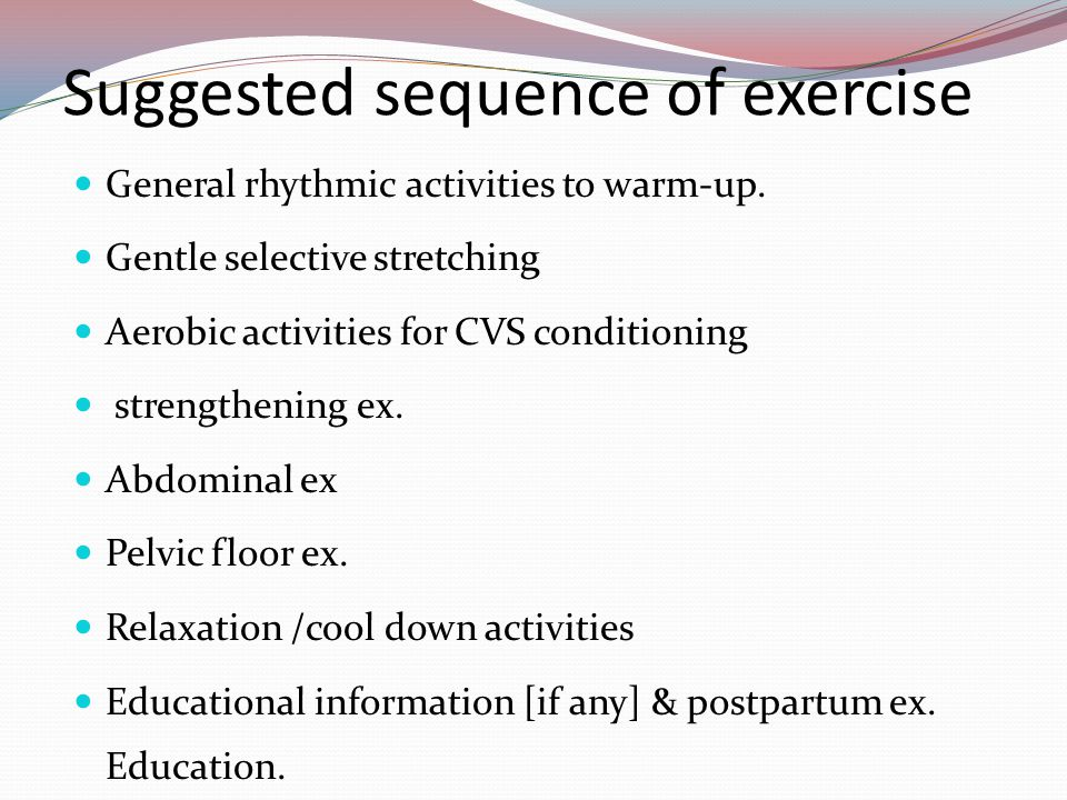 Exercise During Pregnancy - ppt video online download