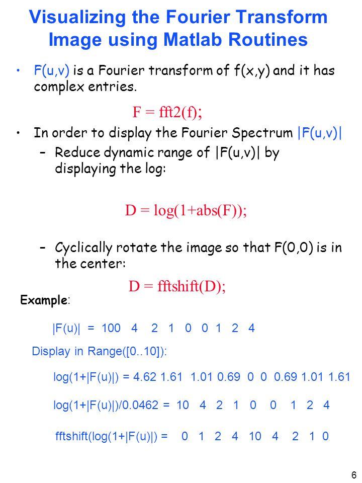Fourier Transform 2D Discrete Fourier Transform - 2D - ppt video
