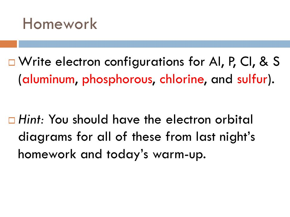 Fall 2011 Week 8 Electrons Ppt Download