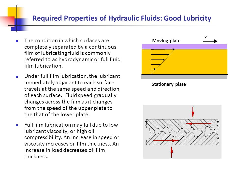 Physical Properties of Hydraulic and Pneumatic Fluids - ppt