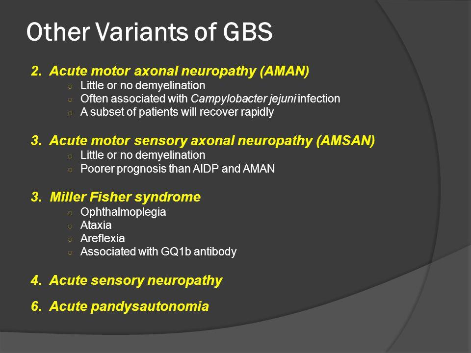 Acute motor axonal neuropathy (AMAN)