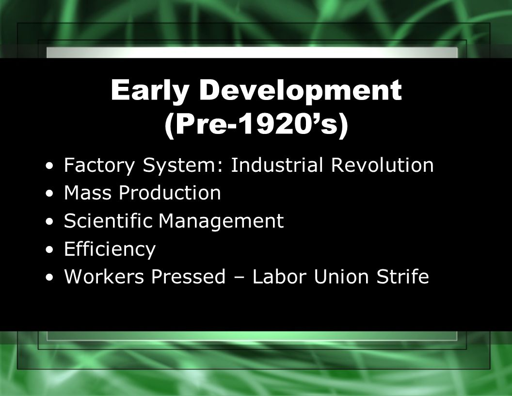 industrial revolution human resource management Transcript of the evolution of human resource management industrial revolution personnel management the future of hrm ancient times hrm today  agriculture industry was the leading industry before industrial revolution in 18th century new factories required large amounts of workers workers treated like machines.