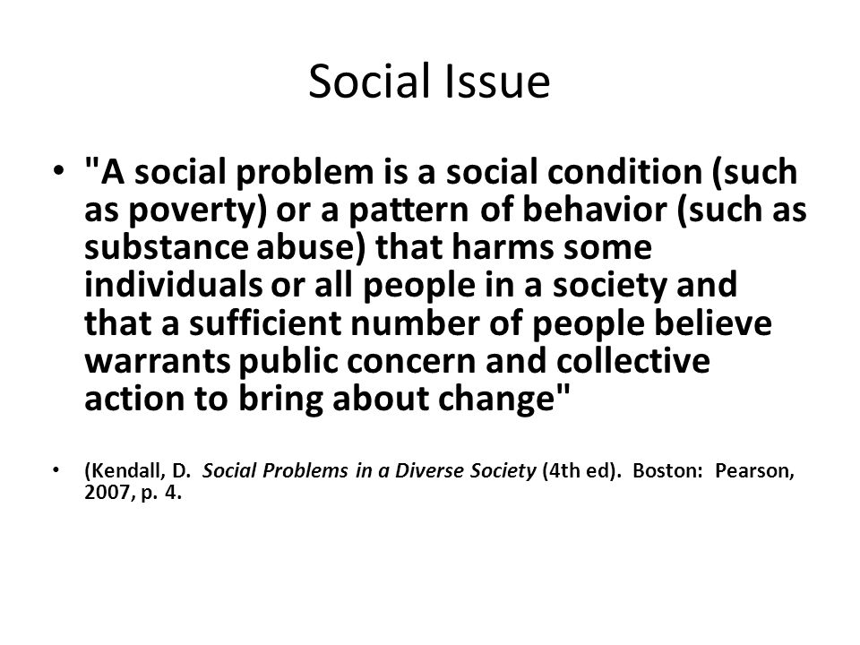 Social Issues  - ppt video online download