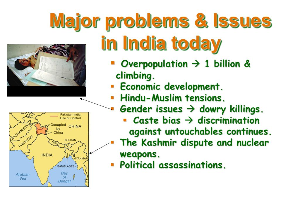 Problems And Issues Facing India Ppt Download