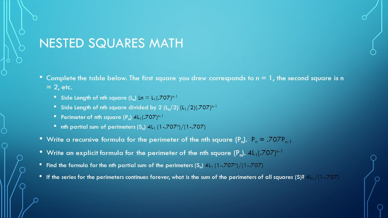 Fun with Sequences And Series - ppt video online download