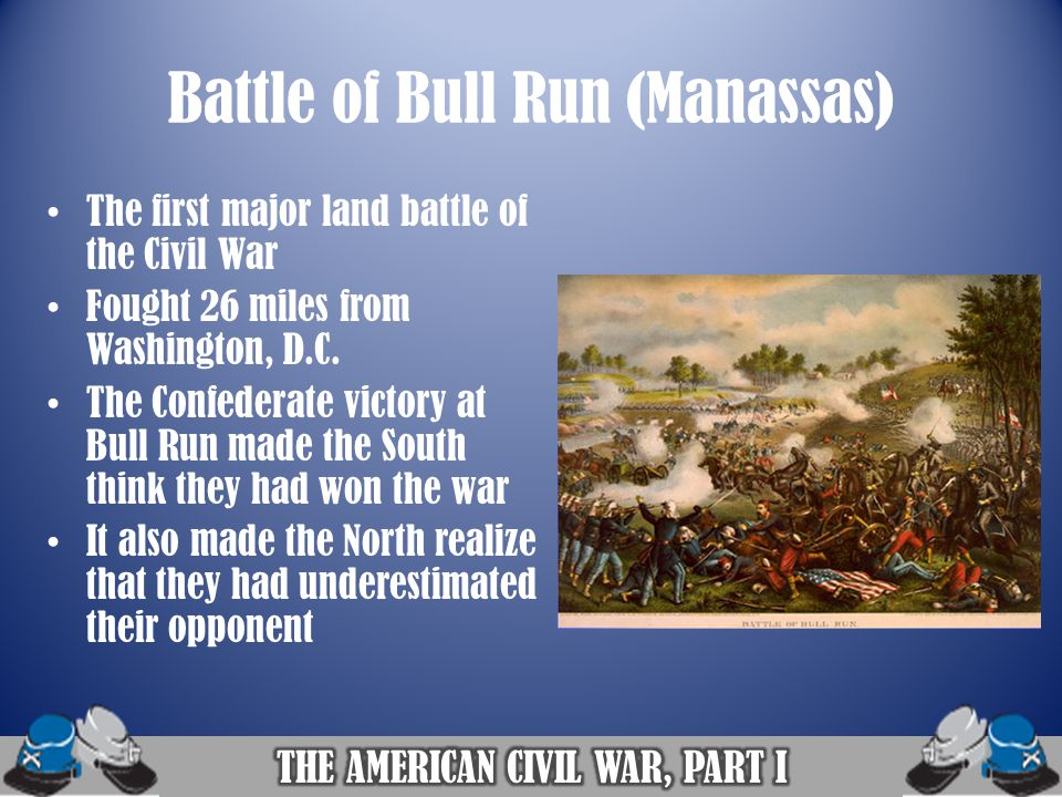Battle of Bull Run (Manassas)