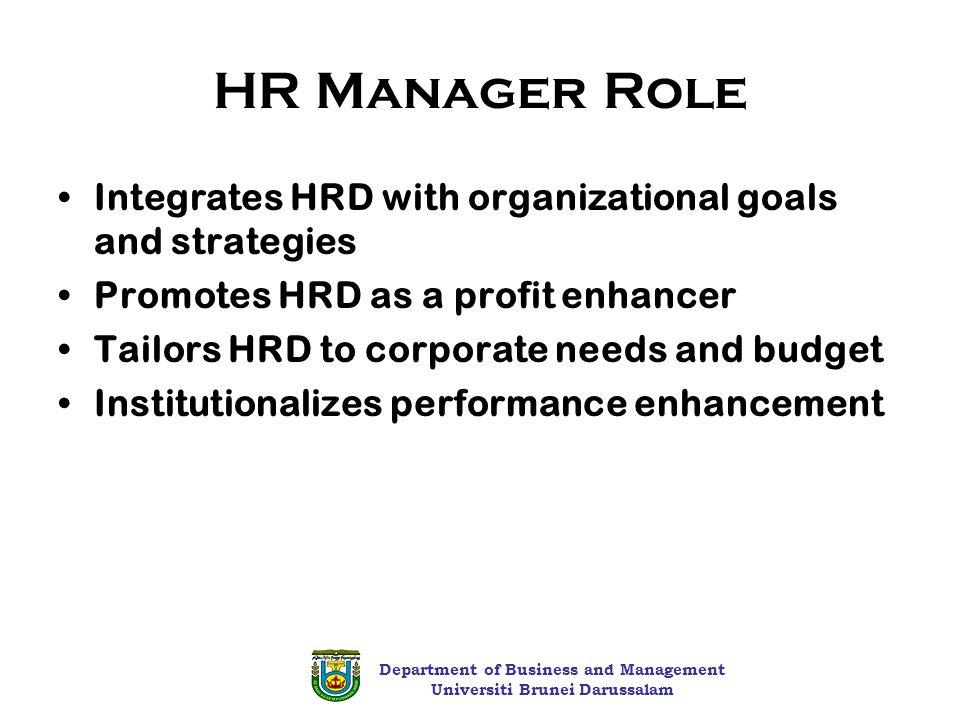 hrd manager