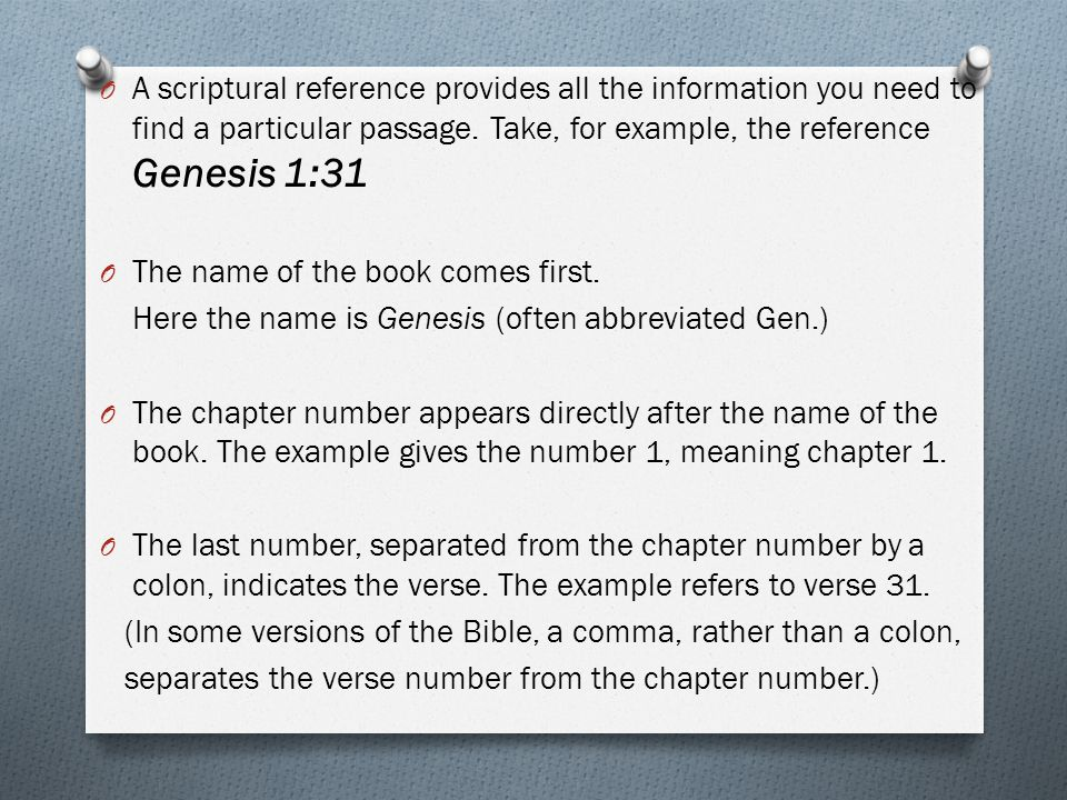 how to find a passage in the bible