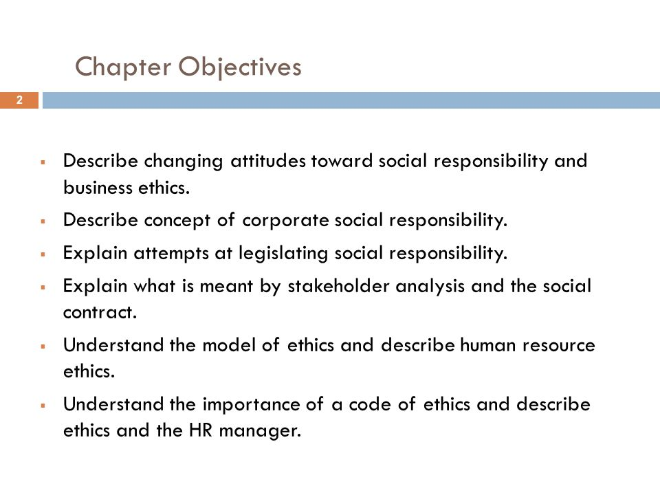 SOCIAL RESPONSIBILITY AND BUSINESS ETHICS - ppt video online