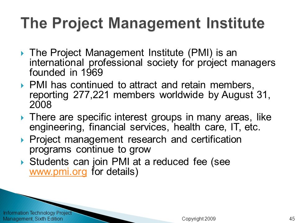 Chapter 1: Introduction to Project Management - ppt download