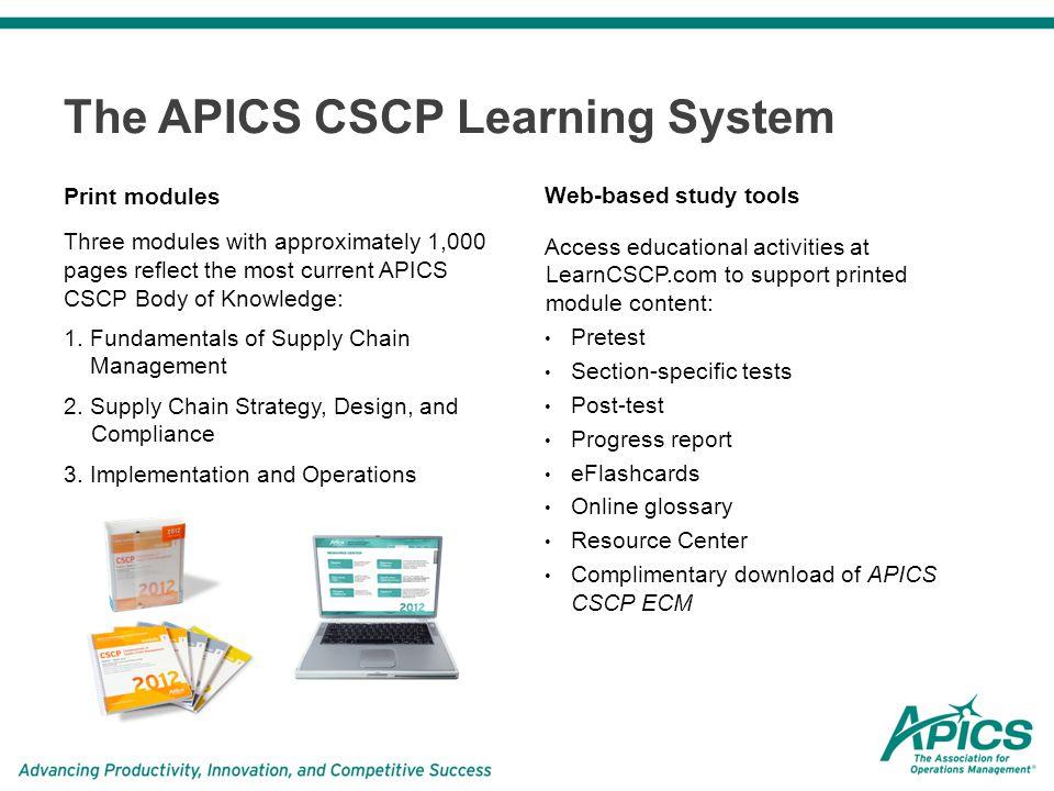 Amazon. Com: 2018 apics cscp learning system.