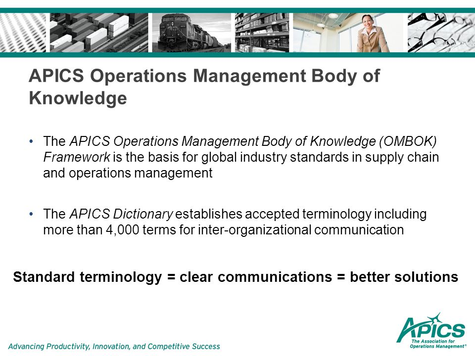 Apics Certified Supply Chain Professional Cscp Program