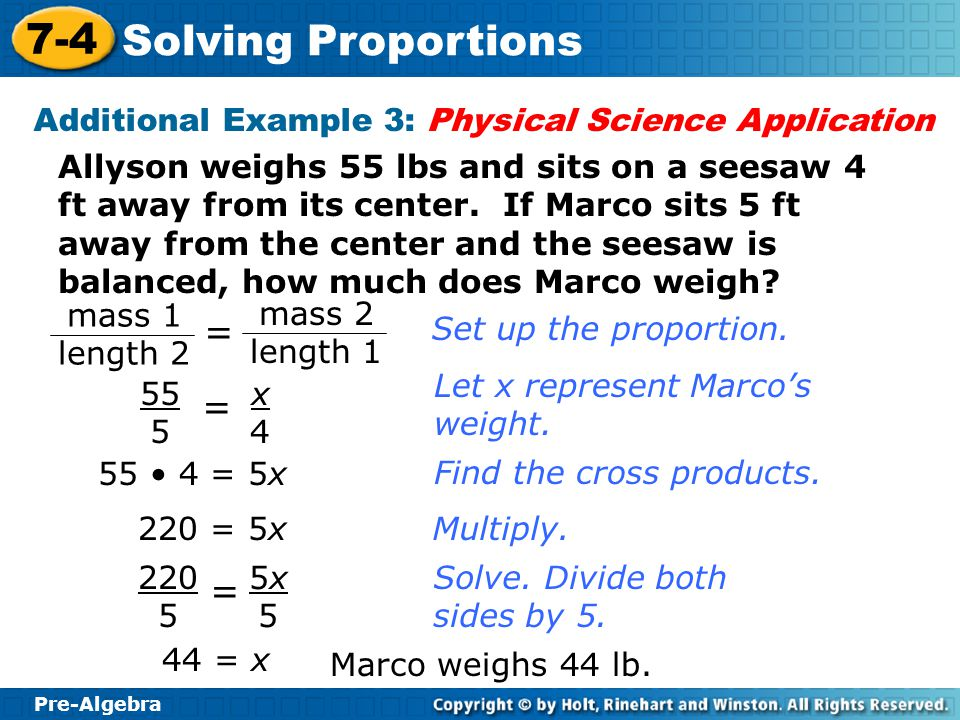 Ch. 7 Learning Goal: Ratios & Proportions - ppt download