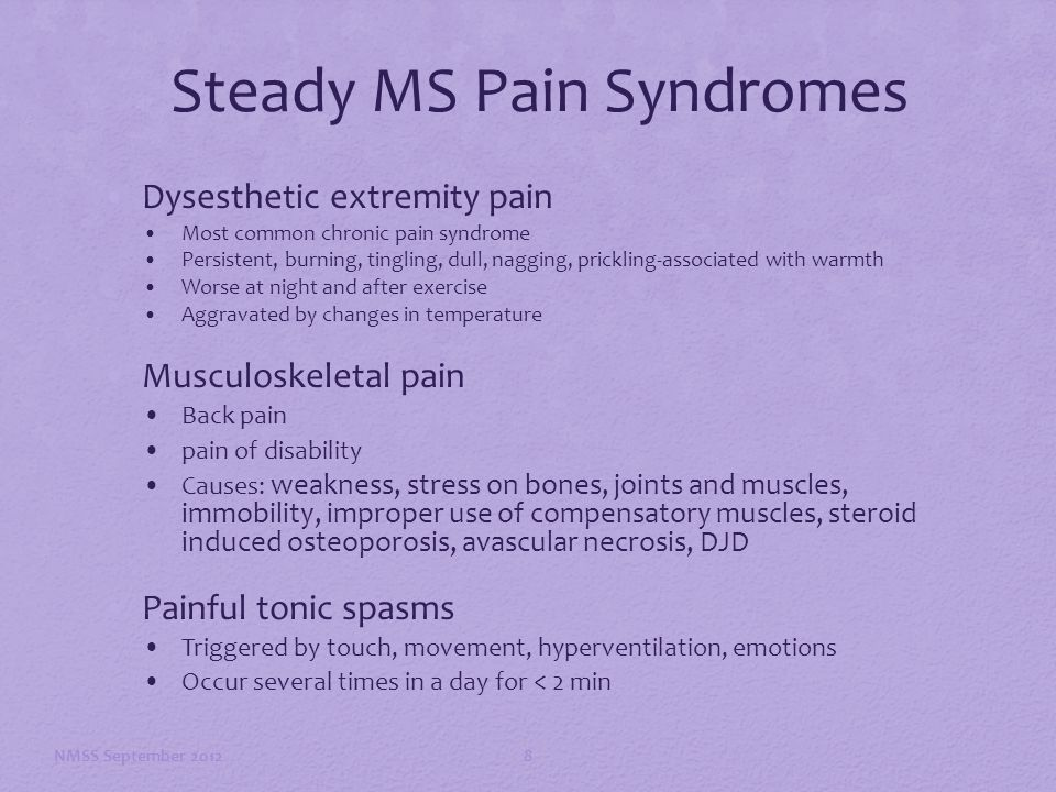 pain in ms a biopsychosocial approach to management ppt download