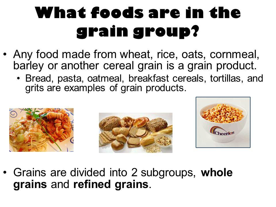 Whole Grains. - ppt video online download