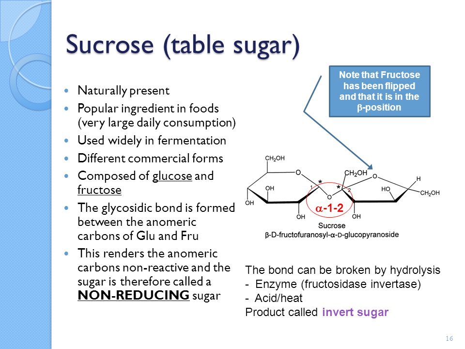 fermentation lab with glucose sucrose and starch Once the starch has been broken down into these simple sugars, other enzymes in yeast act upon simple sugars to produce alcohol and carbon dioxide in the bread making step called fermentation sucrose (sugar) can't be fermented directly by the yeast enzyme, zymase.