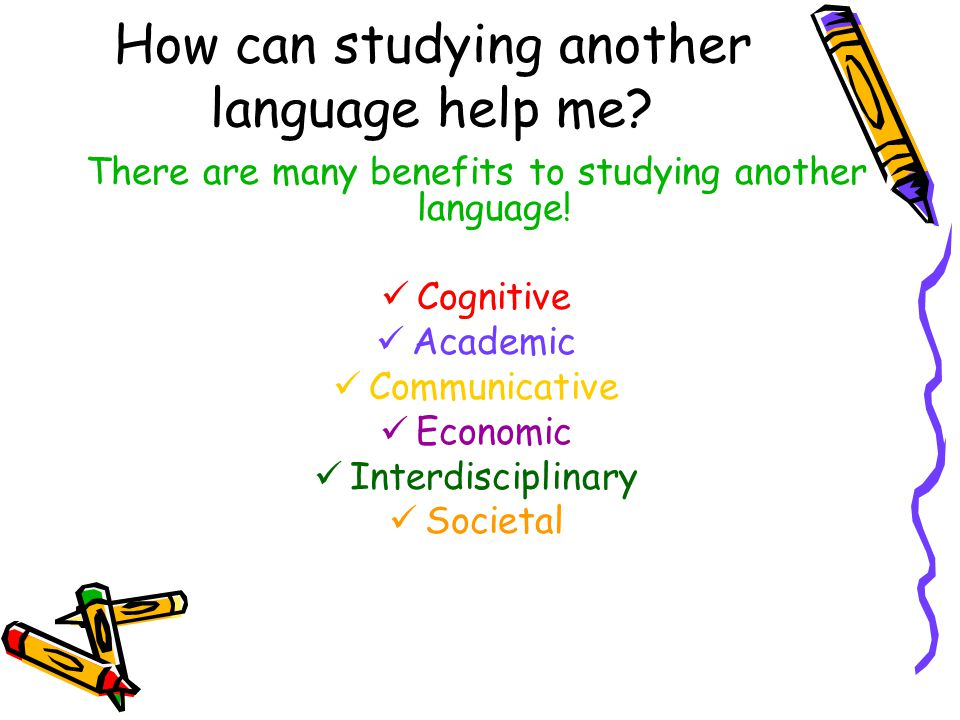 how to study another language