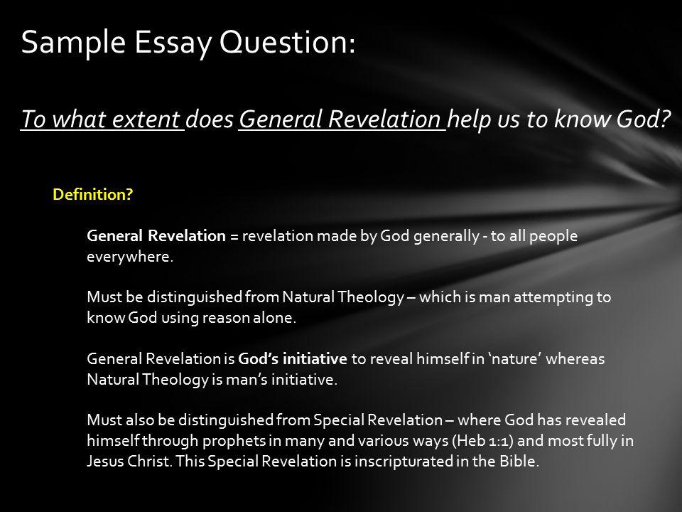 essay on god is everywhere