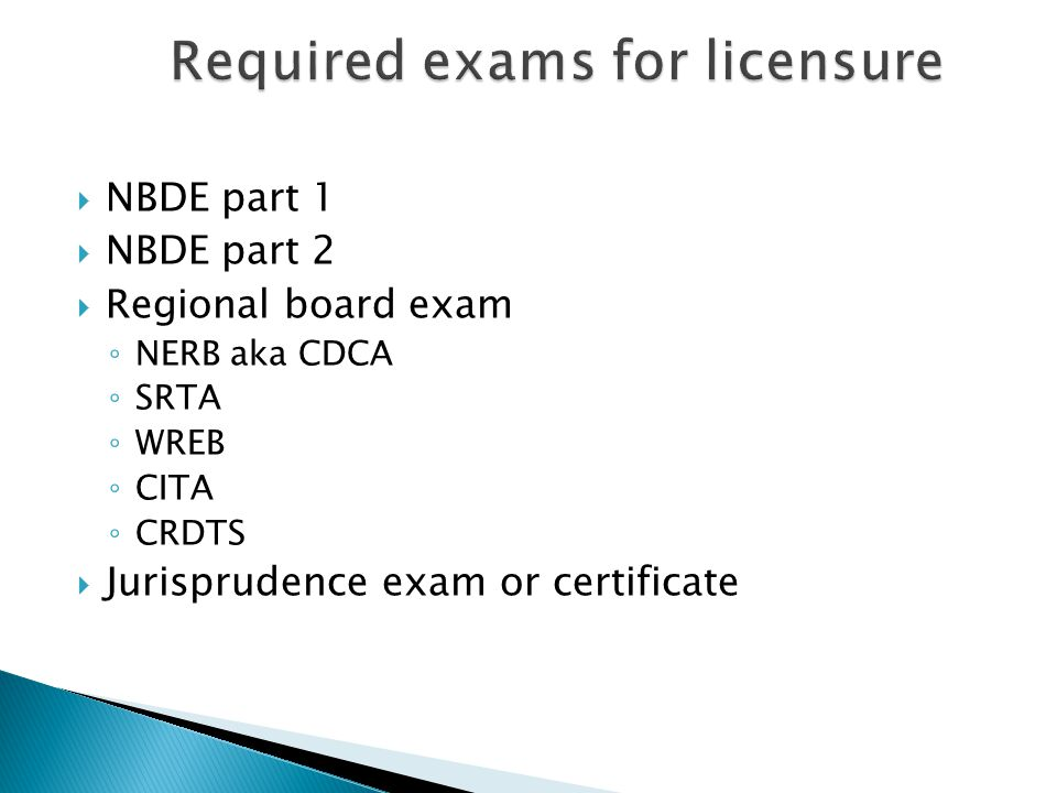 Presented By UIC ASDA Licensure Committee Ppt Video Online