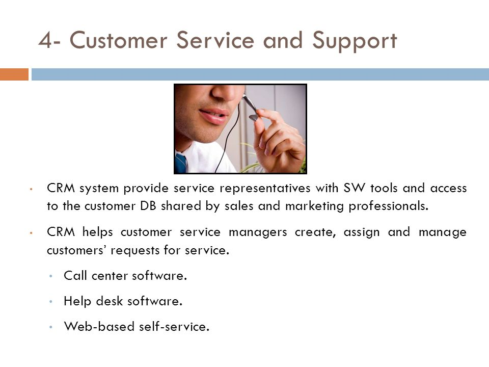 4- Customer Service and Support