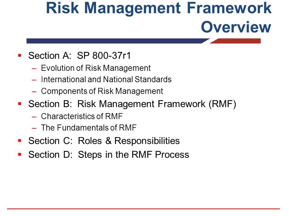 Risk Management Framework Ppt Video Online Download