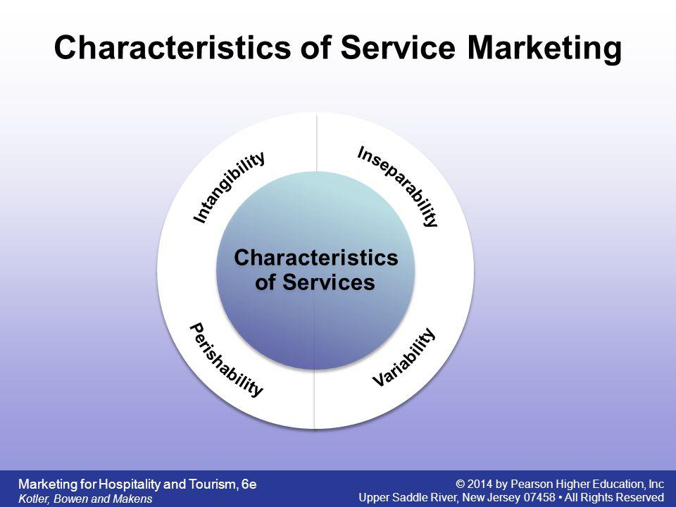characteristics of hospitality services