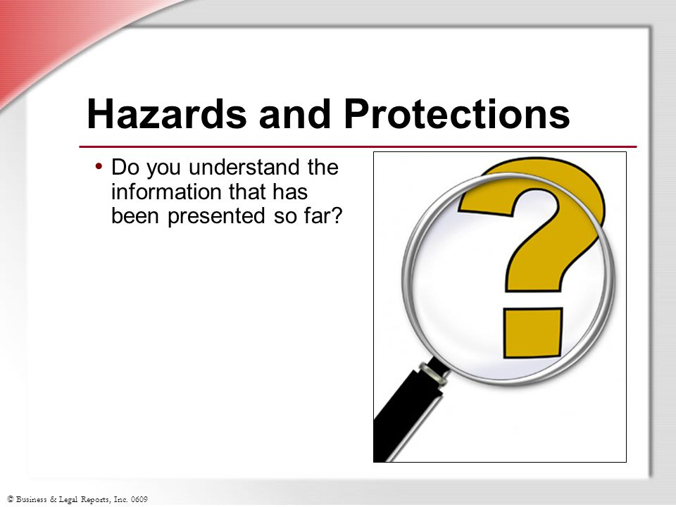 Hazards and Protections