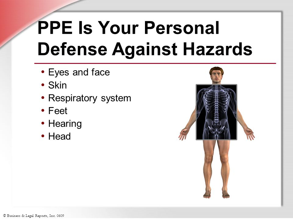 PPE Is Your Personal Defense Against Hazards