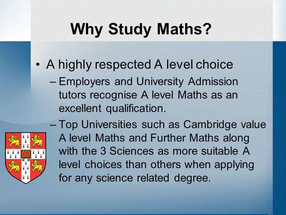 Study level maths online