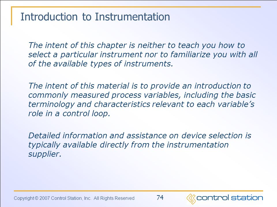 basic instrumentation and control pdf