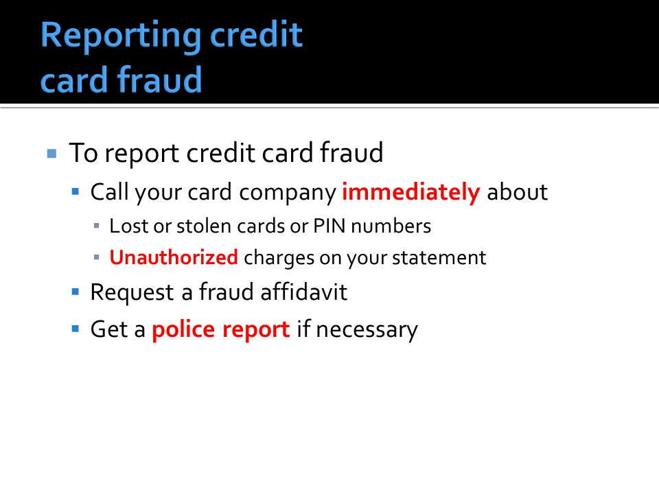 Fraud Ppt Download