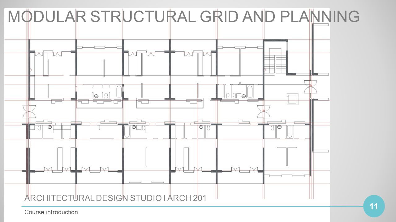 Modular structural grid and planning