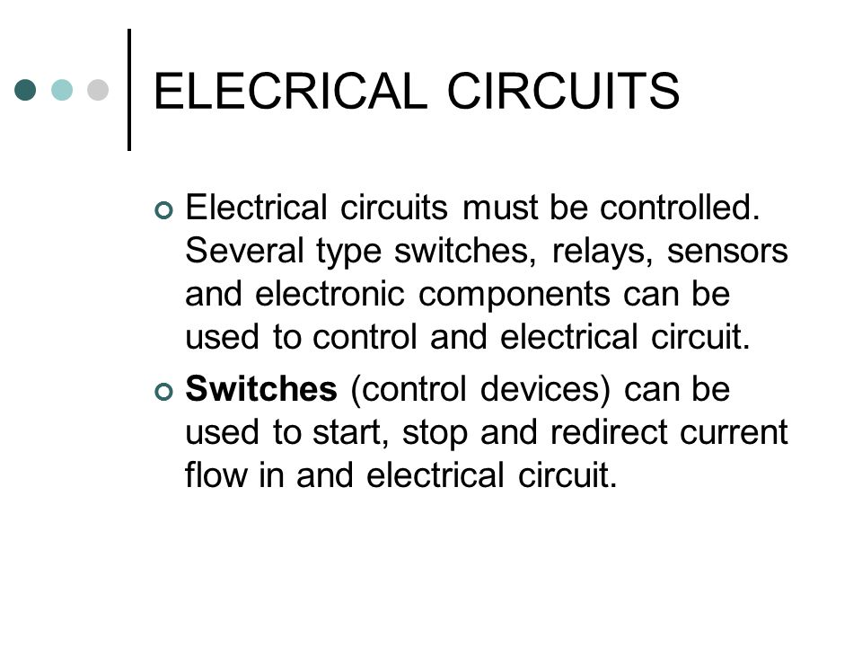 ELECRICAL CIRCUITS. - ppt video online download