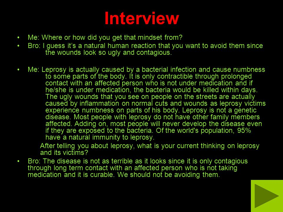 Natural Cure For Leprosy