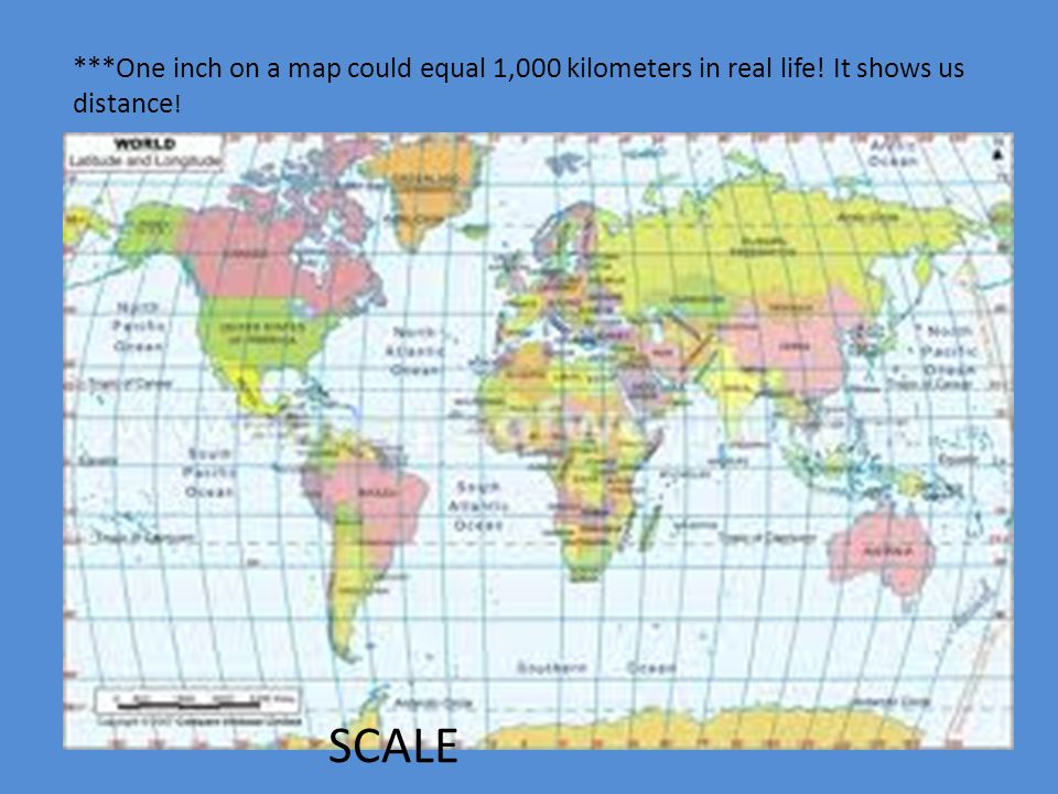 Tools of geo and maps how do we use them ppt video online download one inch on a map could equal 1000 kilometers in real life gumiabroncs Images