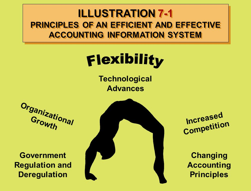 ILLUSTRATION 7-1 PRINCIPLES OF AN EFFICIENT AND EFFECTIVE ACCOUNTING INFORMATION SYSTEM