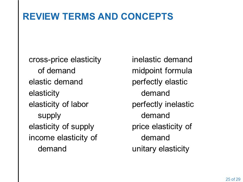 Elasticity Lecture 5 Price Elasticity Of Demand Slope And Elasticity Types Of Elasticity Calculating Elasticities Calculating Percentage Changes Elasticity Ppt Video Online Download