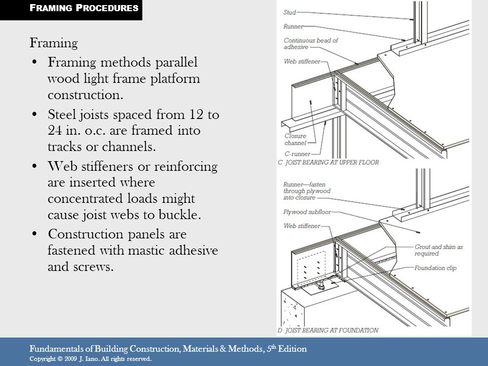 THE CONCEPT OF LIGHT GAUGE STEEL CONSTRUCTION - ppt video online ...