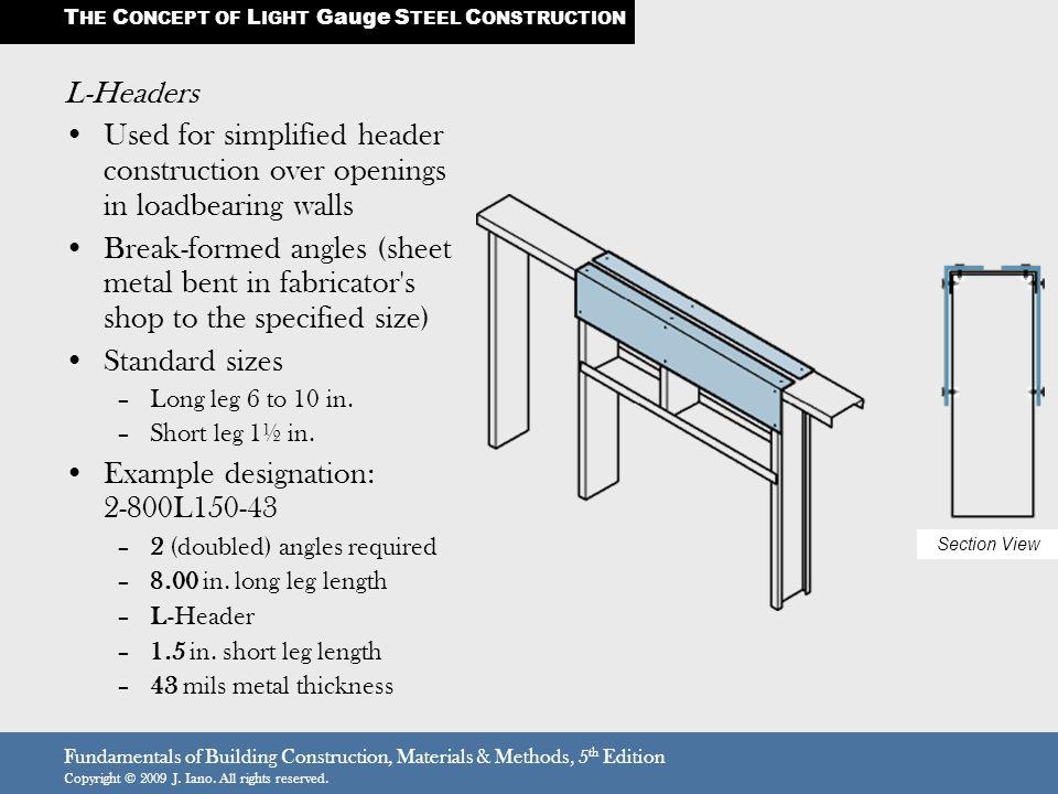 metal framing header detail. Plain Framing 7 Example  With Metal Framing Header Detail F
