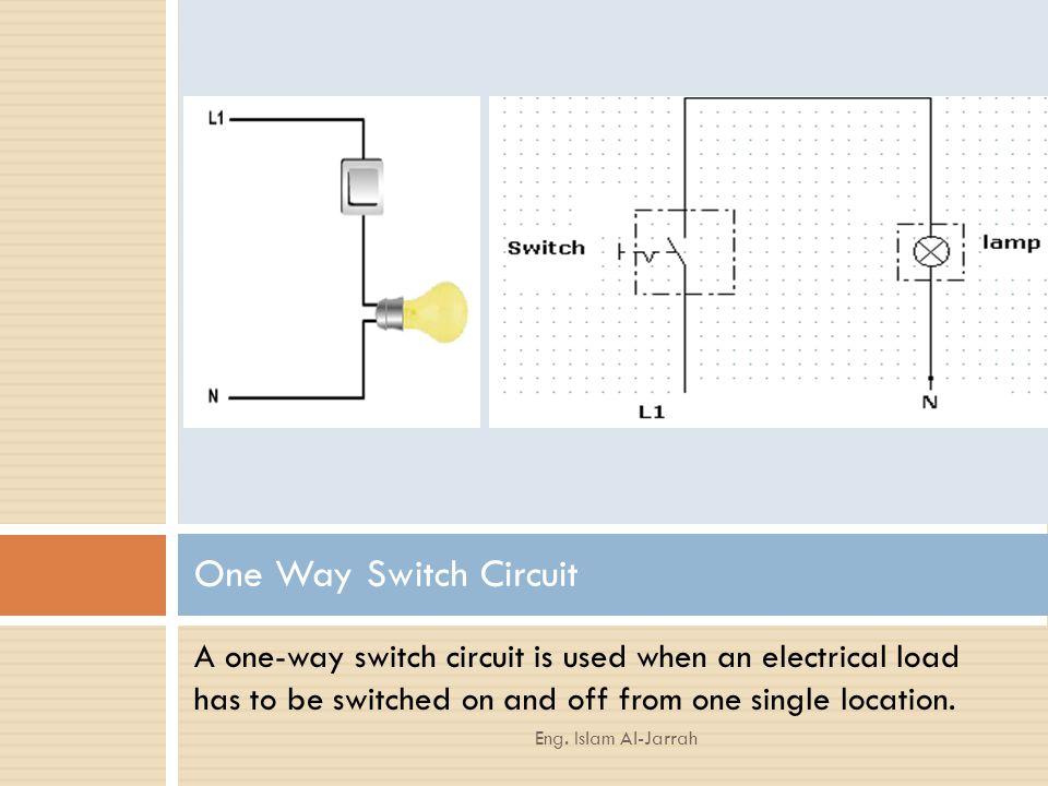 domestic installation  switch circuits