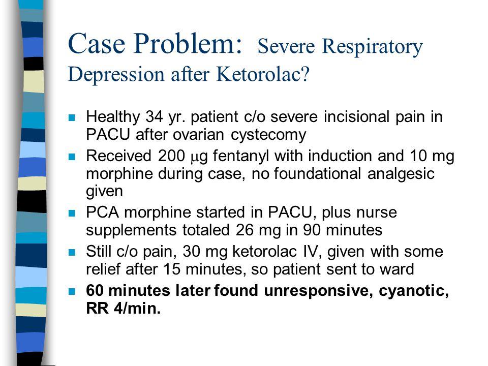 Toradol 60 mg iv push morphine