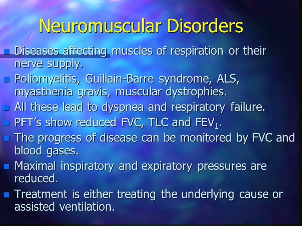 Neuromuscular Disorders