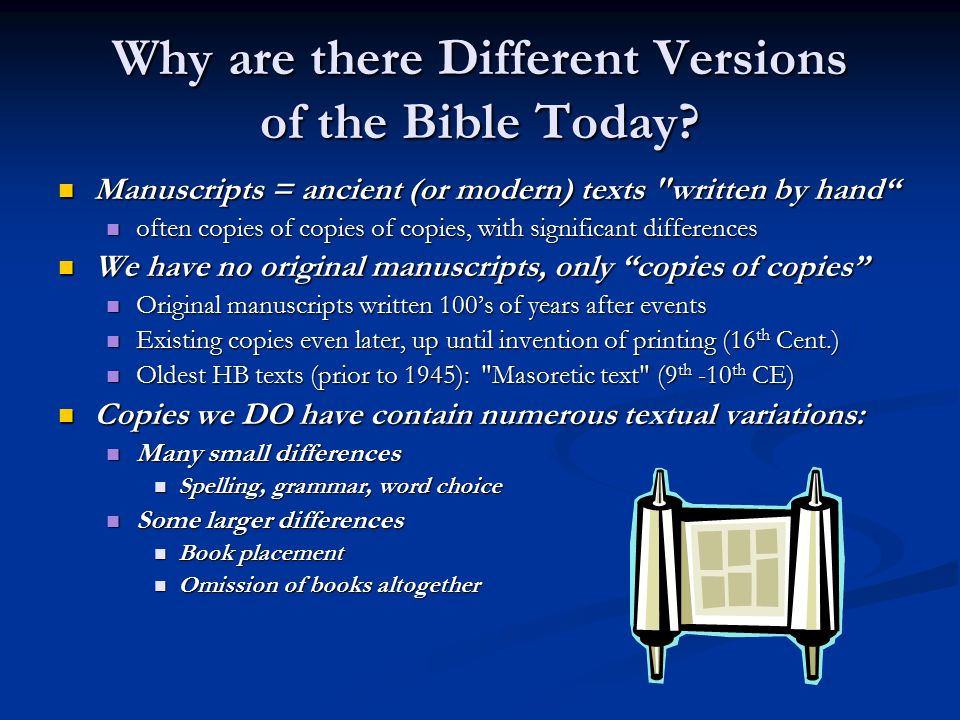 where are the original manuscripts of the bible located