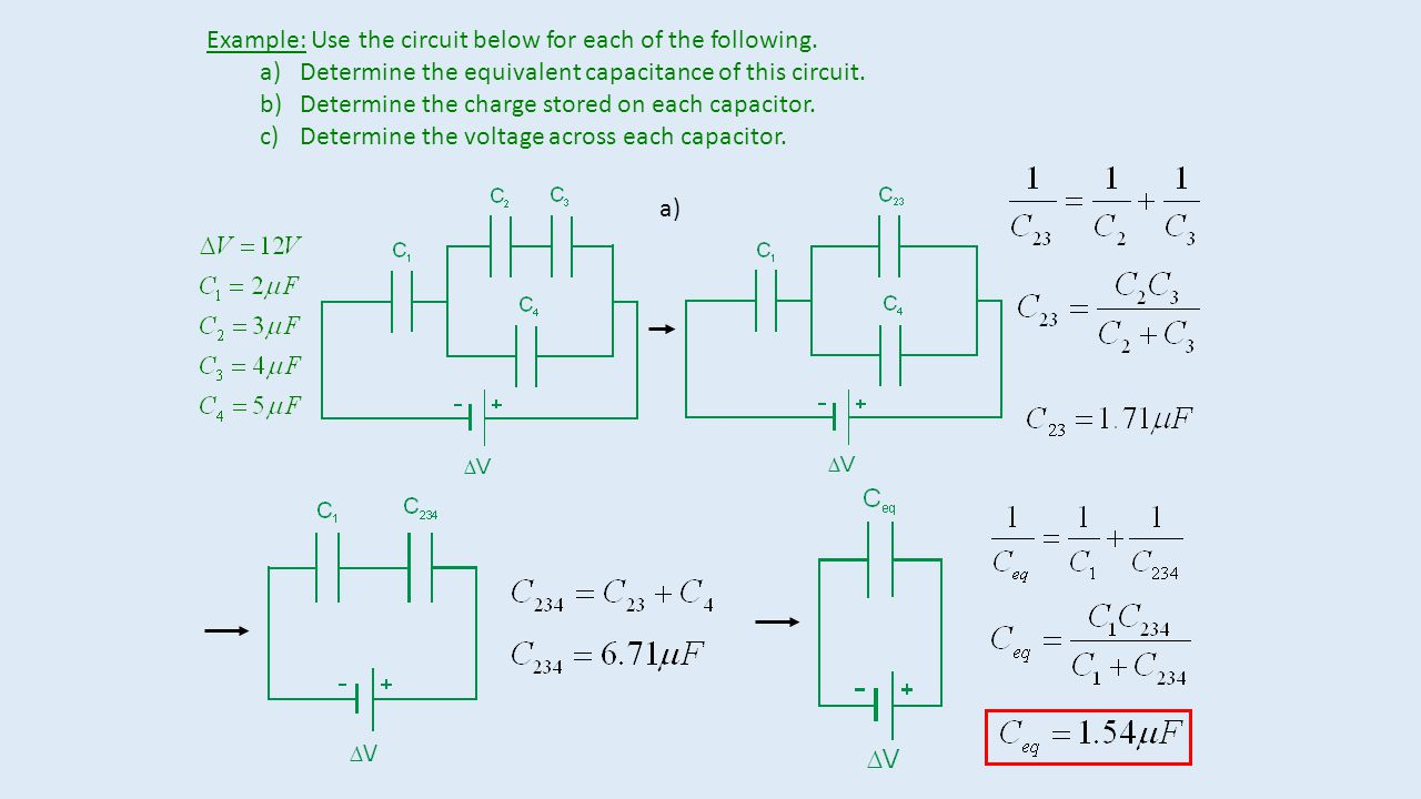 Example A Spherical Capacitor Consists Of Conducting Charge Circuit Use The Below For Each Following