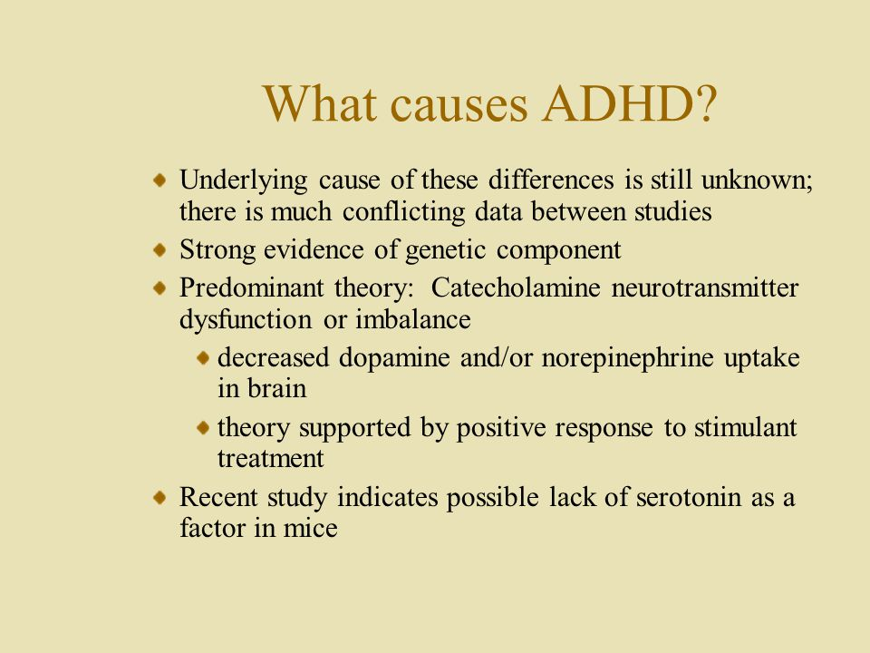 Attention-Deficit Hyperactivity Disorder - ppt video online